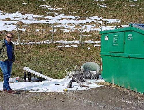 Unngå forsøpling – bruk gjenvinningsstasjonen